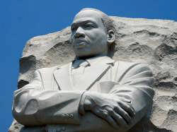 Martian Luther King Jr-Statue DC